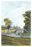 Scenic French Wallpaper III Giclee Print by Naomi McCavitt