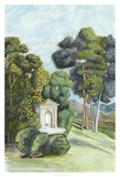 Scenic French Wallpaper I Giclee Print by Naomi McCavitt