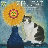 Zen Cat - 2018 Calendar Calendars