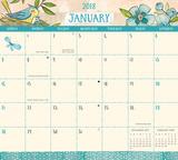 Secret Garden - 2018 Monthly Calendar Pad Calendriers