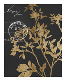 Golden Leaves IV Posters by Jennifer Goldberger