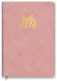 Hello Pink Leatheresque Weekly Planner Kalenders