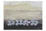 Stenciled Posies V Prints by Natalie Avondet