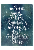 Galaxy Quote I Prints by Grace Popp