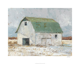 Whitewashed Barn II Limited Edition by Ethan Harper