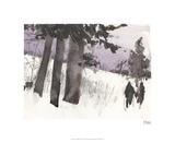 Woodland Sketch II Édition limitée par Samuel Dixon