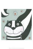 Super Animal - Skunk Poster by Tatijana Lawrence