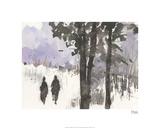 Woodland Sketch I Édition limitée par Samuel Dixon
