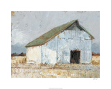 Whitewashed Barn I Limited Edition by Ethan Harper