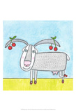 Super Animal - Goat Prints by Tatijana Lawrence