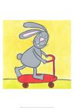 Super Animal - Rabbit Prints by Tatijana Lawrence