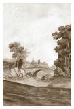 Sepia French Wall Paper III Giclee Print by Naomi McCavitt