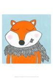 Super Animal - Fox Posters by Tatijana Lawrence