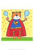 Super Animal - Tiger Posters by Tatijana Lawrence