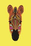 Savane Zebra Art by Emilie Ramon