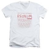 The Shining/Redrum Scrawl V-Neck T-Shirt