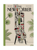 Shelf Life - The New Yorker Cover, March 27, 2017 Regular Giclee Print by Luci Gutiérrez