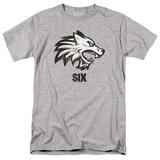 Six- Wolf Emblem T-Shirt