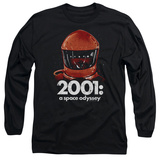 Long Sleeve: 2001 A Space Odyssey/Red Space Helmet Long Sleeves