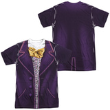 Willy Wonka And The Chocolate Factory- Wonka Costume Tee (Front/Back) Sublimated