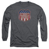 Long Sleeve: American Pickers- Vintage Logo Shield Long Sleeves