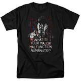 Full Metal Jacket/What Is You Malfunction Numbnuts T-shirts