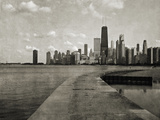 Chicago Beach Walk Giclee Print by Pete Kelly