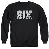 Crewneck Sweatshirt: Six- Squad Logo T-shirts