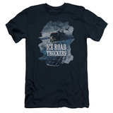 Ice Road Truckers- Life On The Highway Slim Fit Shirts
