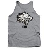 Tank Top: Six- Wolf Emblem Tank Top