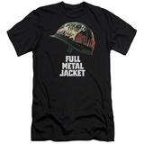 Full Metal Jacket/Poster Art Slim Fit T-Shirt