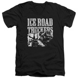 Ice Road Truckers- Break The Ice V-Neck T-Shirt