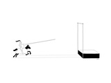 Knight on horse approaches a pole vault. - New Yorker Cartoon Premium Giclee Print by Seth Fleishman