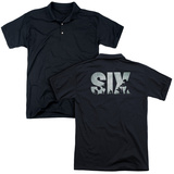 Polo: Six- Squad Logo (Back Print) T-shirts