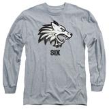 Long Sleeve: Six- Wolf Emblem Long Sleeves