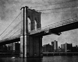 The Brooklyn Crossing Giclee Print by Pete Kelly