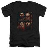 Duck Dynasty- American Dynasty V-Neck Shirts
