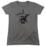 Womens: Six- Decorated Shooter Shirt