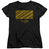 Womans: Willy Wonka And The Chocolate Factory/The Golden Ticket T-shirts