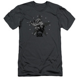 Six- Decorated Shooter Slim Fit T-shirts