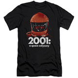 2001 A Space Odyssey/Red Space Helmet Slim Fit T-Shirt