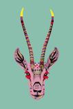 Savane Antelope Posters av Emilie Ramon