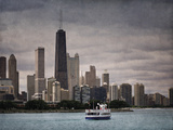 Chicago Sails Giclee Print by Pete Kelly