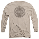 Long Sleeve: Ancient Aliens- Mayan Calender Long Sleeves