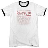 The Shining/Redrum Scrawl Ringer Shirts
