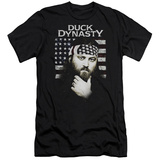 Duck Dynasty- Willie Robertson Americana Slim Fit T-shirts