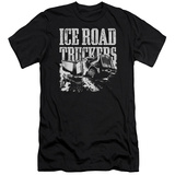 Ice Road Truckers- Break The Ice Slim Fit T-Shirt