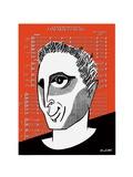 John Corigliano - Cartoon Regular Giclee Print by Tom Bachtell