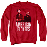 Crewneck Sweatshirt: American Pickers- Mike & Frank Season 16 T-shirts