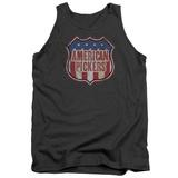 Tank Top: American Pickers- Vintage Logo Shield Tank Top